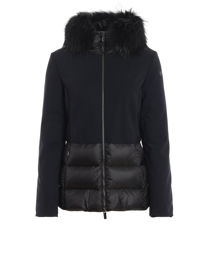 Image for RRD WOMEN'S W19532FT10 BLACK POLYESTER DOWN JACKET