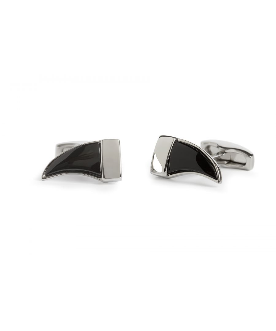 Image for Onyx Tusk Cufflinks