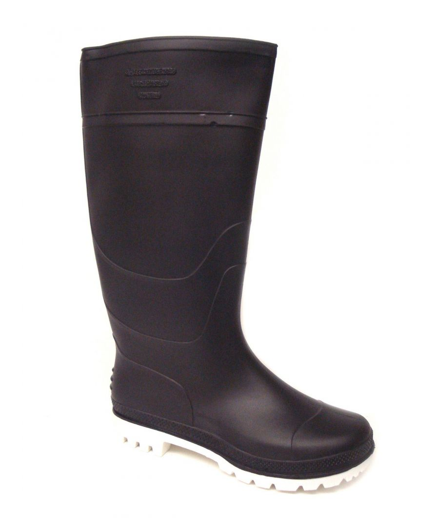 Image for Ladies Navy Long Leg Wellington Boots/Wellies