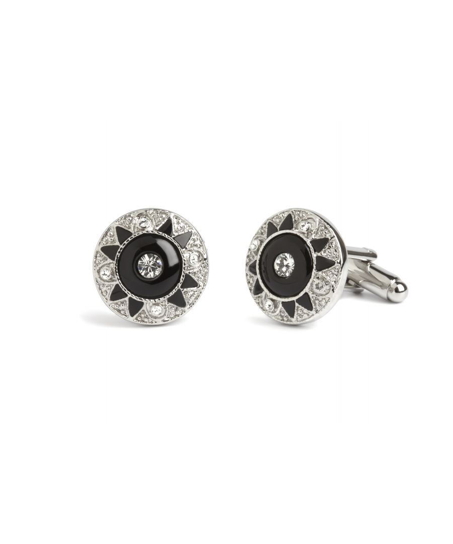 Image for Onyx Victoriana Cufflinks