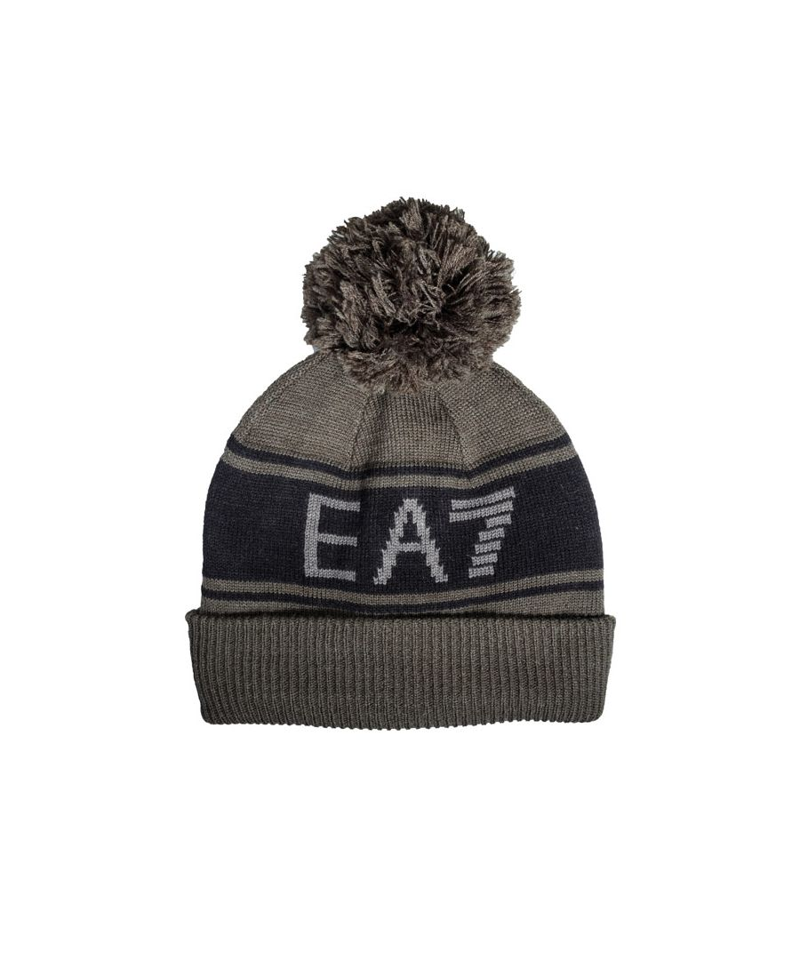 Image for Accessories Emporio Armani EA7 Mount Urban Beanie in Green