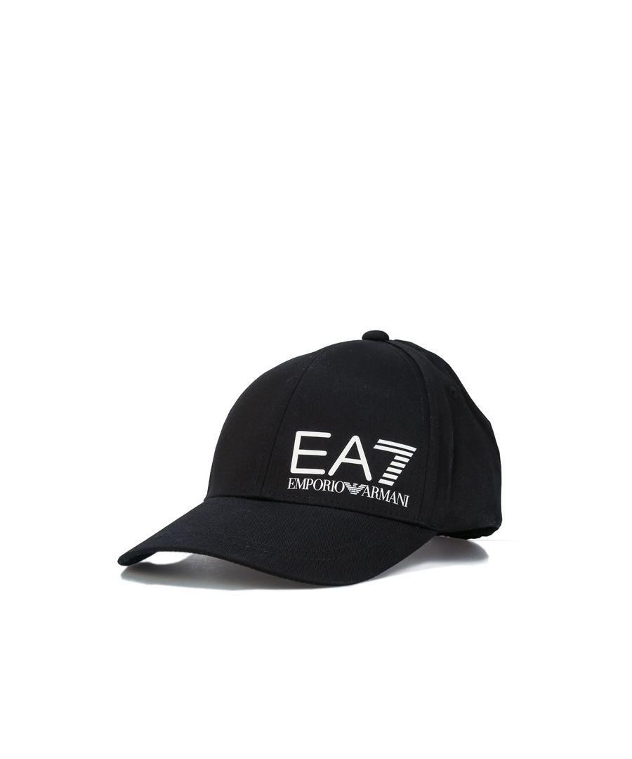 Image for Accessories Emporio Armani EA7 Training Logo Cap in Black