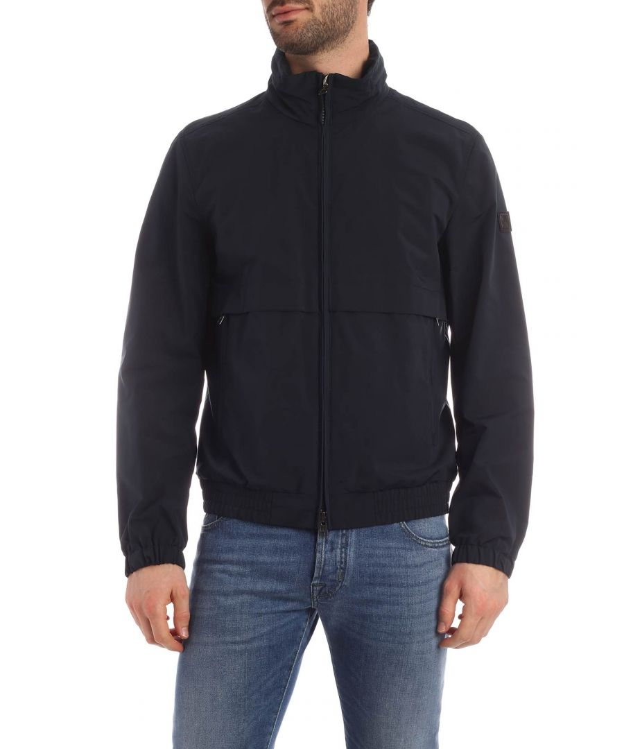 Image for WOOLRICH MEN'S WOOU0221MRUT20513989 BLUE POLYESTER OUTERWEAR JACKET