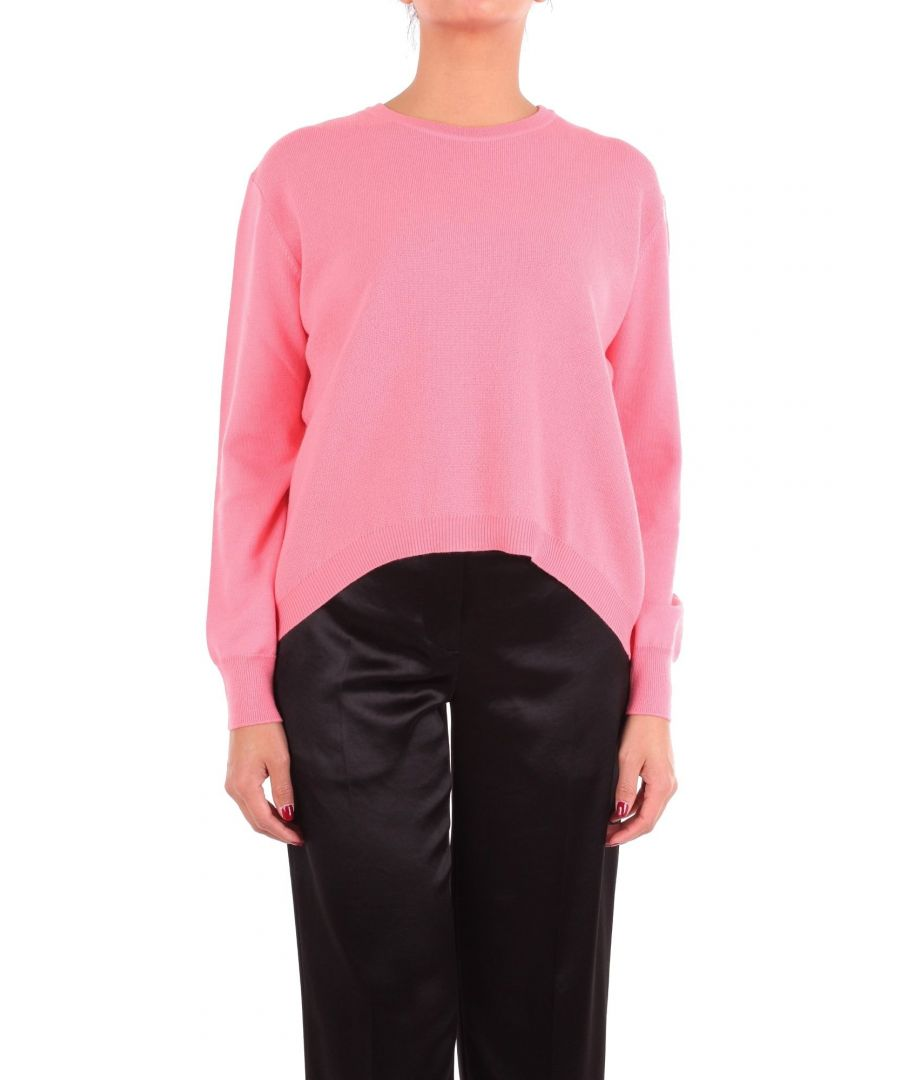 Image for CÉDRIC CHARLIER WOMEN'S A091089050206 PINK WOOL SWEATER