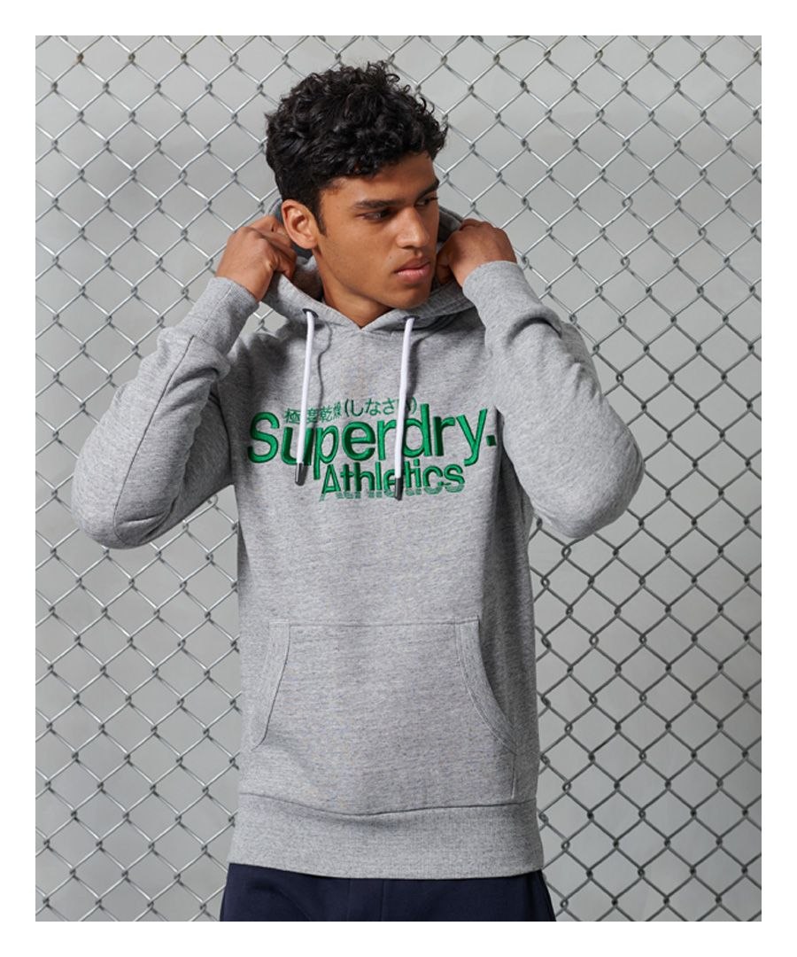 Image for Superdry Core Logo Athletics Hoodie