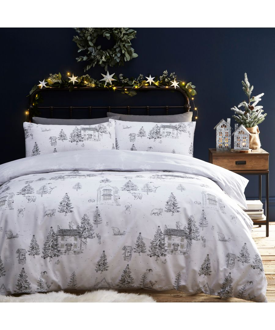 Image for Midwinter Toile Duvet Cover Set