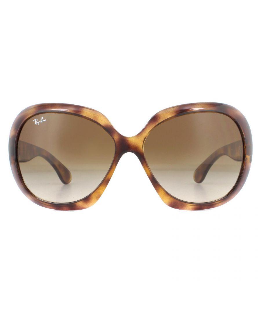 Image for Ray-Ban Sunglasses Jackie Ohh II RB4098 642/13 Havana  Dark Brown Gradient