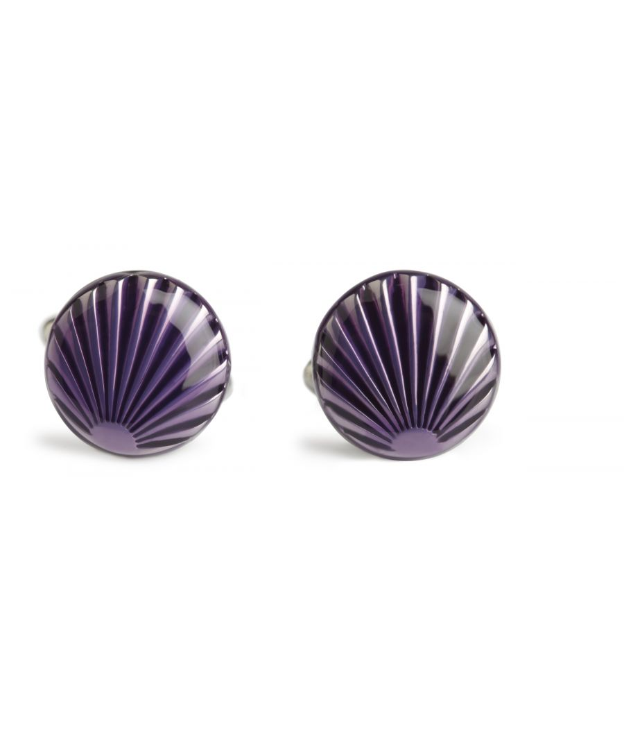 Image for Purple Shell Cufflinks