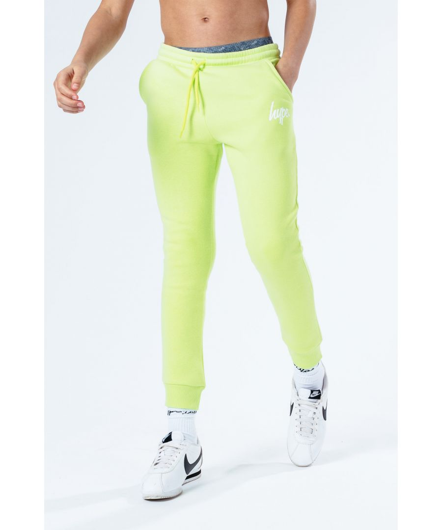 Image for Hype Neon Script Kids Joggers