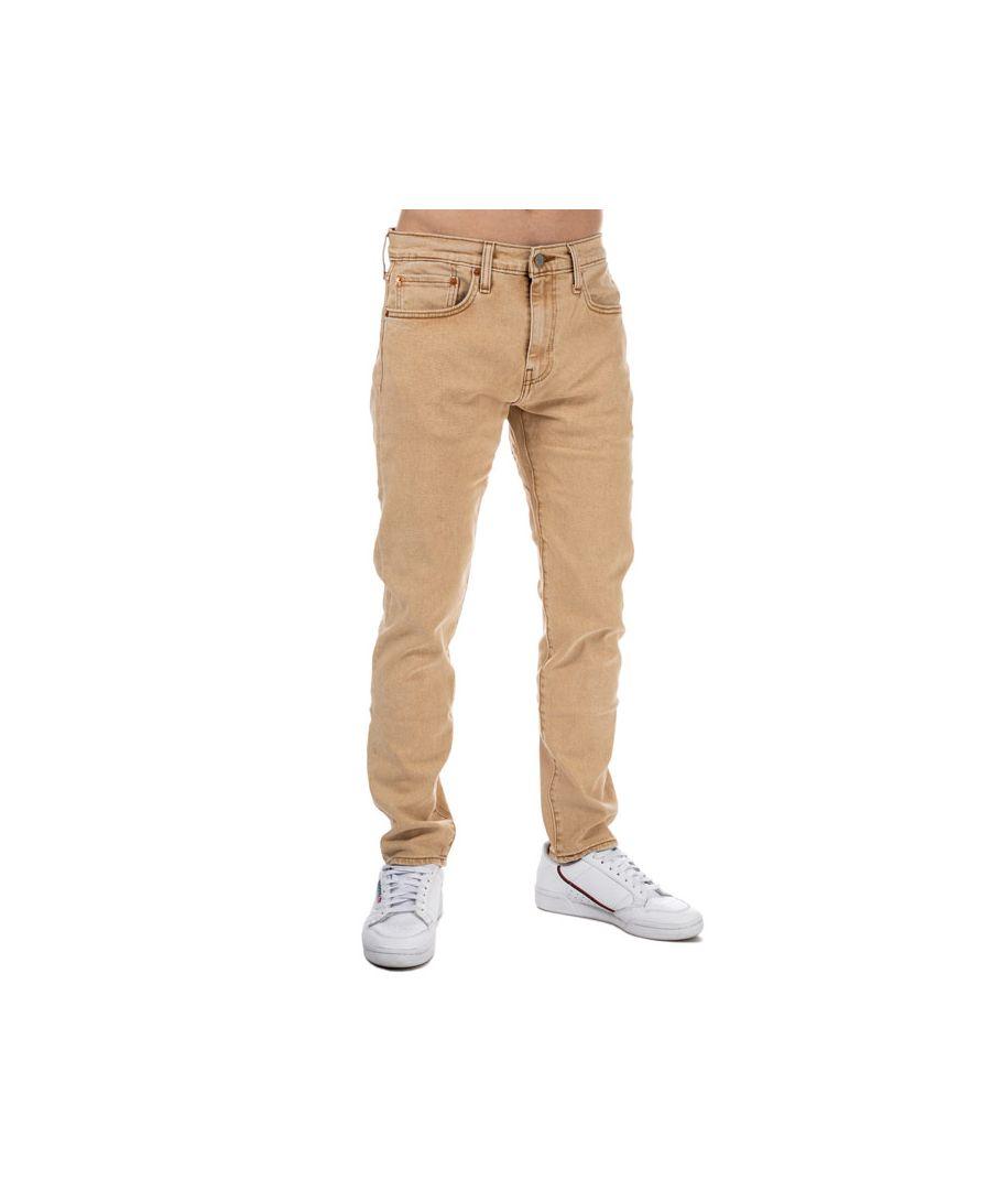Image for Men's Levis 512 Slim Taper Fit Jeans in Sand