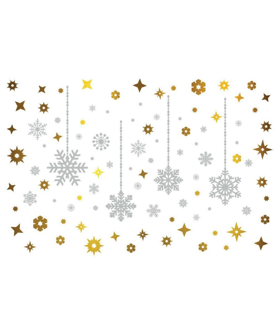 Image for C2W0002 - Shining Christmas Snowflakes - WS5301 + WS3328