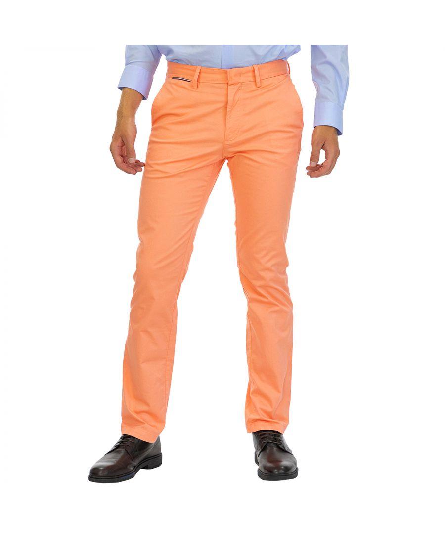 Image for Tommy Hilfiger Men Denim Denton Chino    Orange