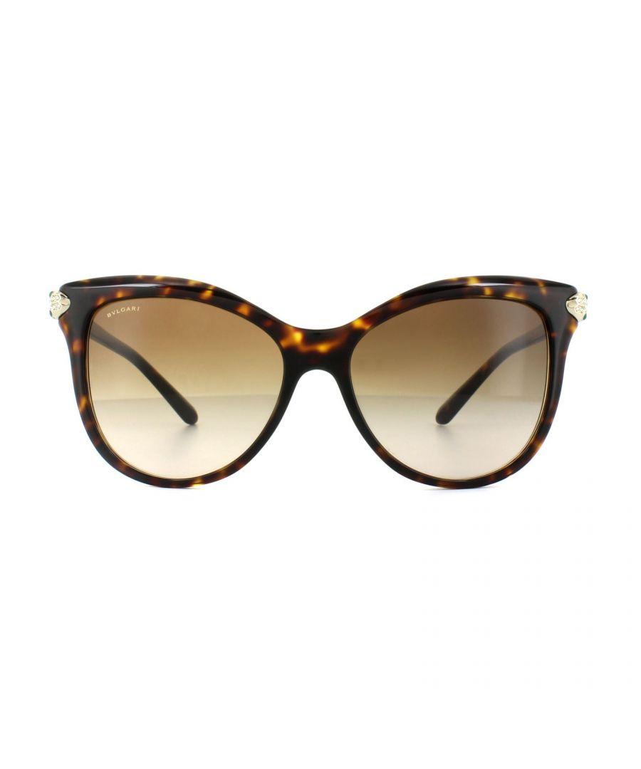 Image for Bvlgari Sunglasses BV8188B 504/13 Dark Havana Brown Gradient