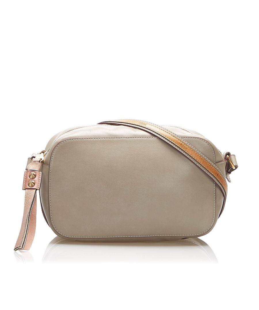 Image for Vintage Chloe Leather Crossbody Bag Brown
