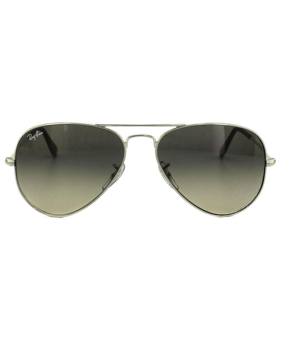 Image for Ray-Ban Sunglasses Aviator 3025 003/32 Silver Grey Gradient 58mm