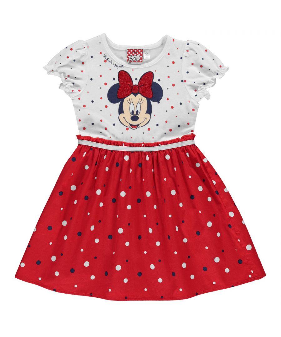 Image for Character Kid Girls Woven Midi Dress Infant Short Sleeve