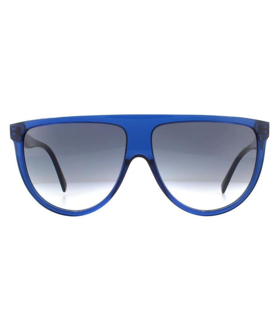 Image for Celine Sunglasses CL40006I 90B Shiny Blue Smoke Gradient