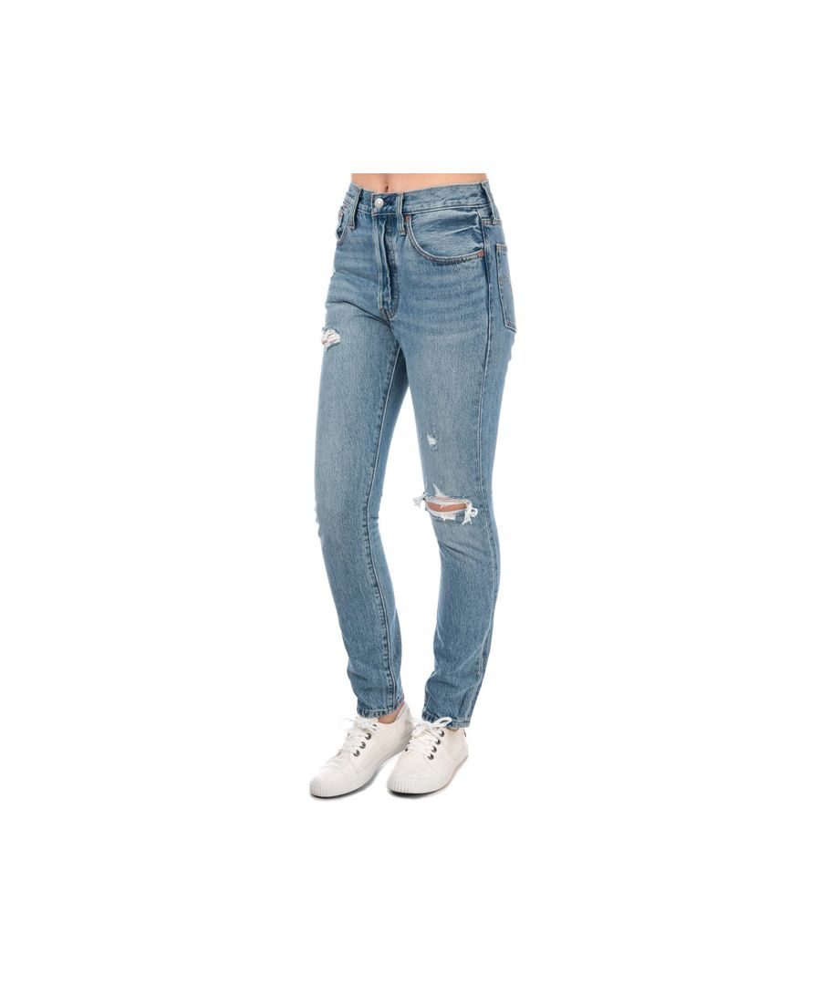 Image for Women's Levis 501 Skinny Can't Touch This Jeans in Denim