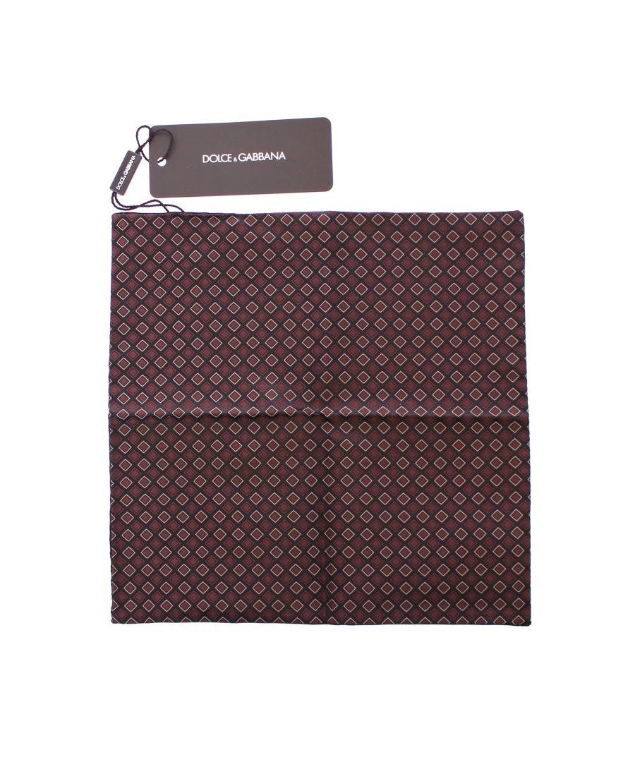 Image for Dolce & Gabbana Multicolor Silk Handkerchief