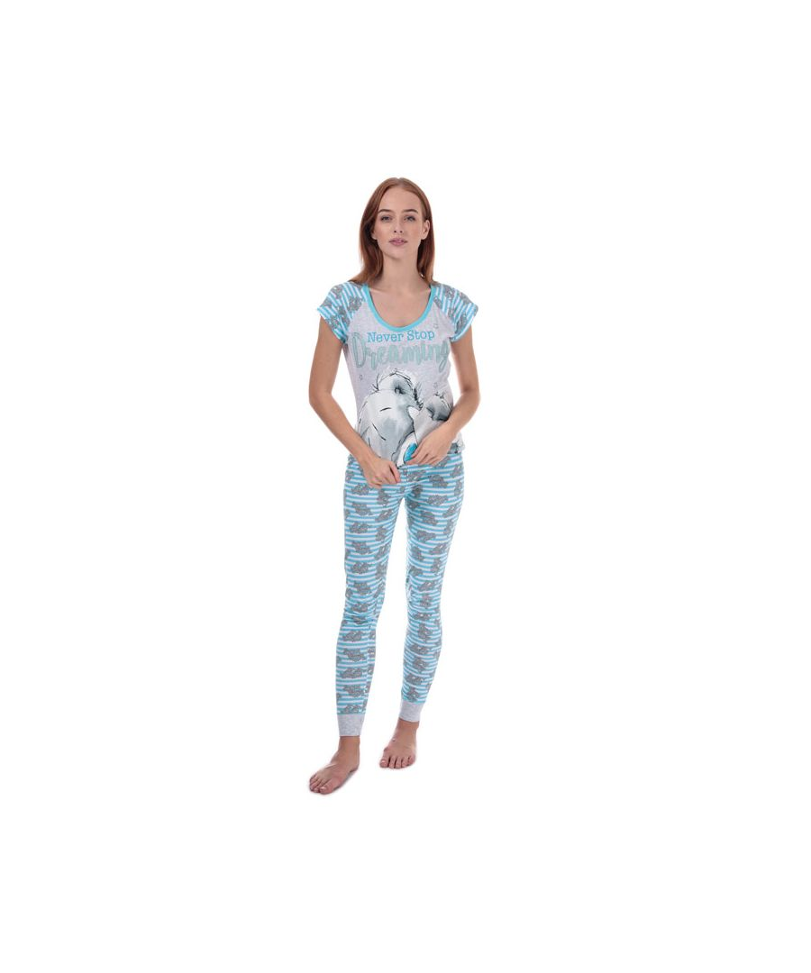 Image for Women's Me To You Tatty Teddy Pyjamas in Blue
