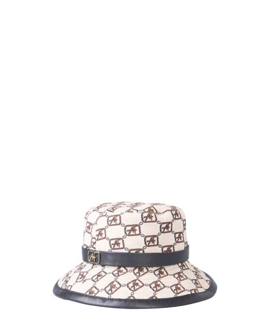 Image for ALBERTA FERRETTI WOMEN'S 360266451009 WHITE COTTON HAT