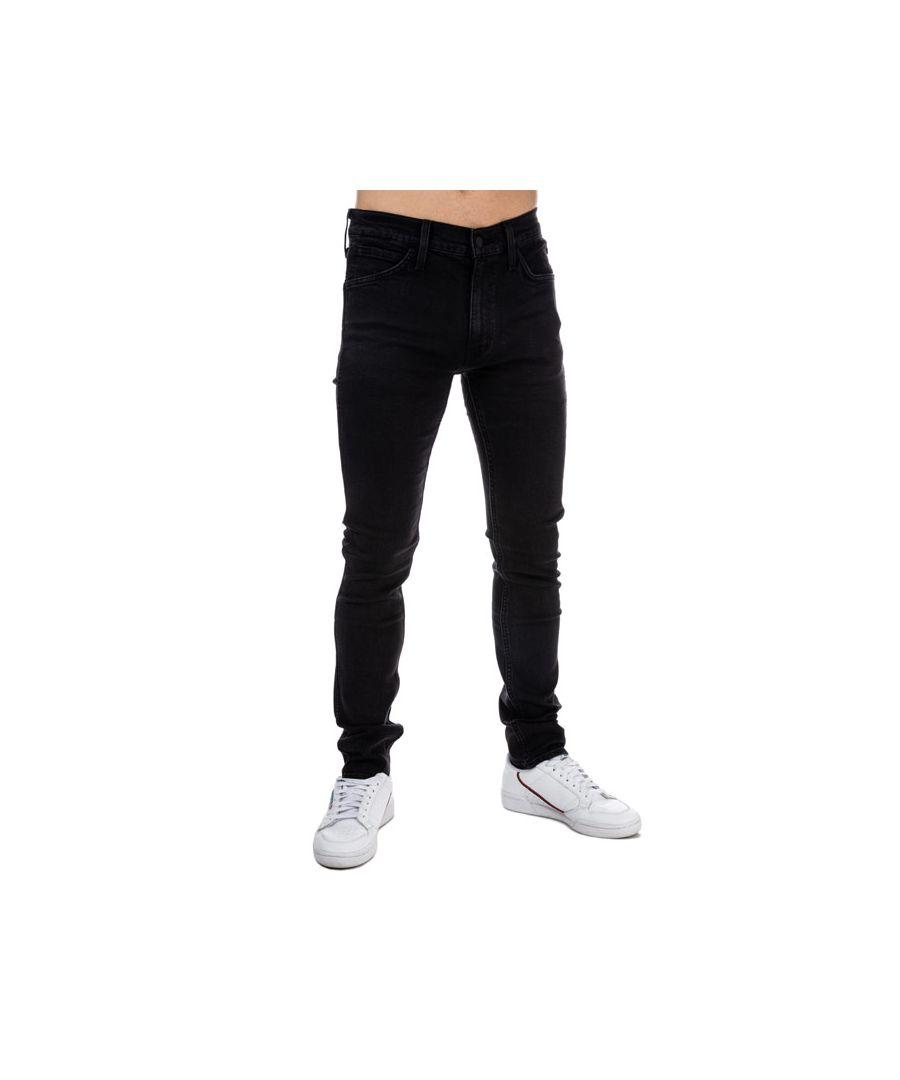 Image for Men's Levis Line 8 Skinny Jeans in Black