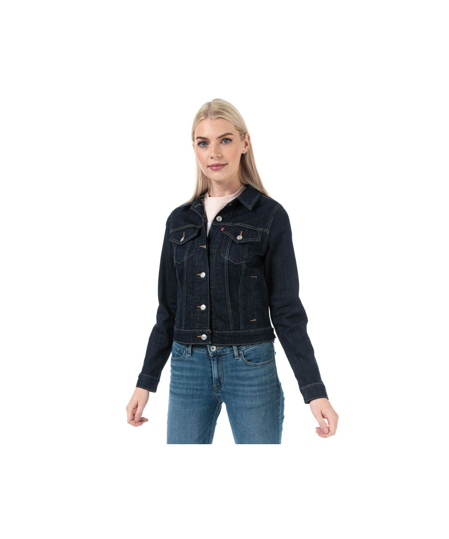 Image for Women's Levis Original Trucker Jacket in Denim