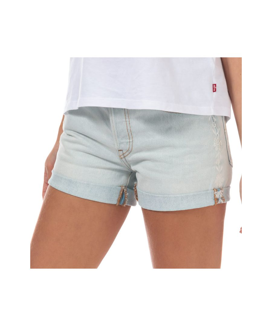 Image for Women's Levis 501 Shorts in Light Blue