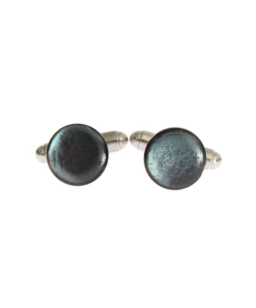 Image for Dolce & Gabbana Silver Brass Round Cufflinks