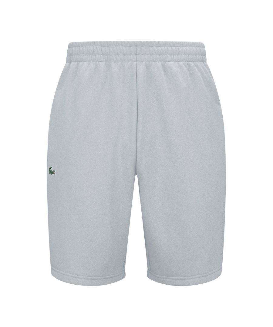 Image for Lacoste Polyester Shorts - Grey