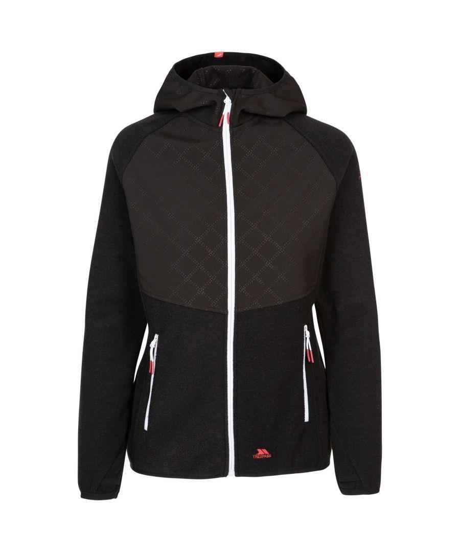 Image for Trespass Womens/Ladies Starshine Fleece Jacket (Black Marl)
