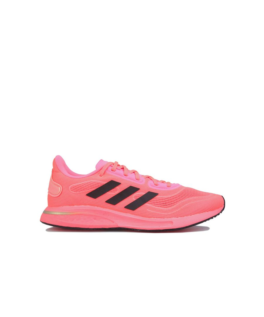 Image for Women's adidas Supernova Running Shoes in Pink black