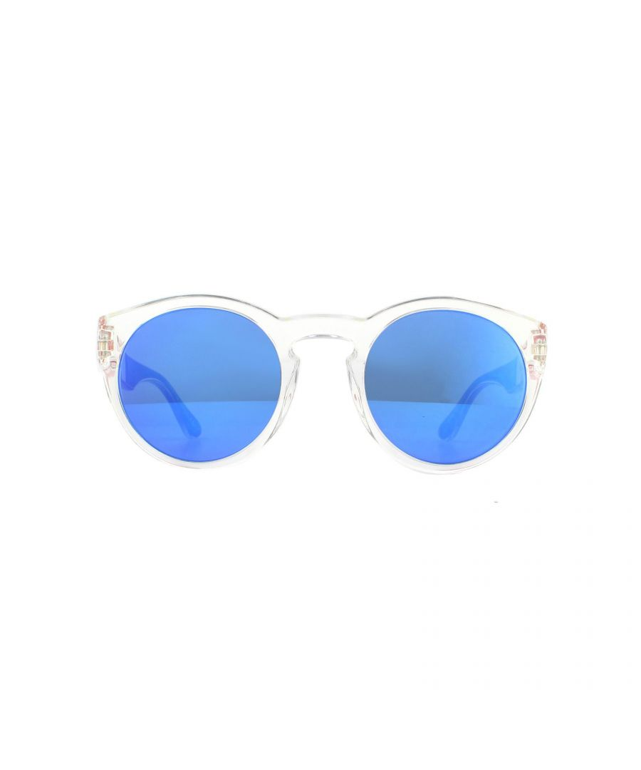 Image for Tommy Hilfiger Sunglasses TH 1555/S QM4 Z0 Crystal Blue Blue Mirror