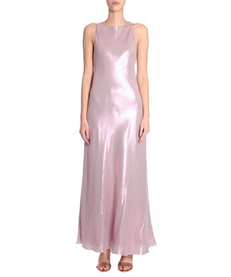 Image for ALBERTA FERRETTI WOMEN'S 046901290186 PINK POLYESTER DRESS