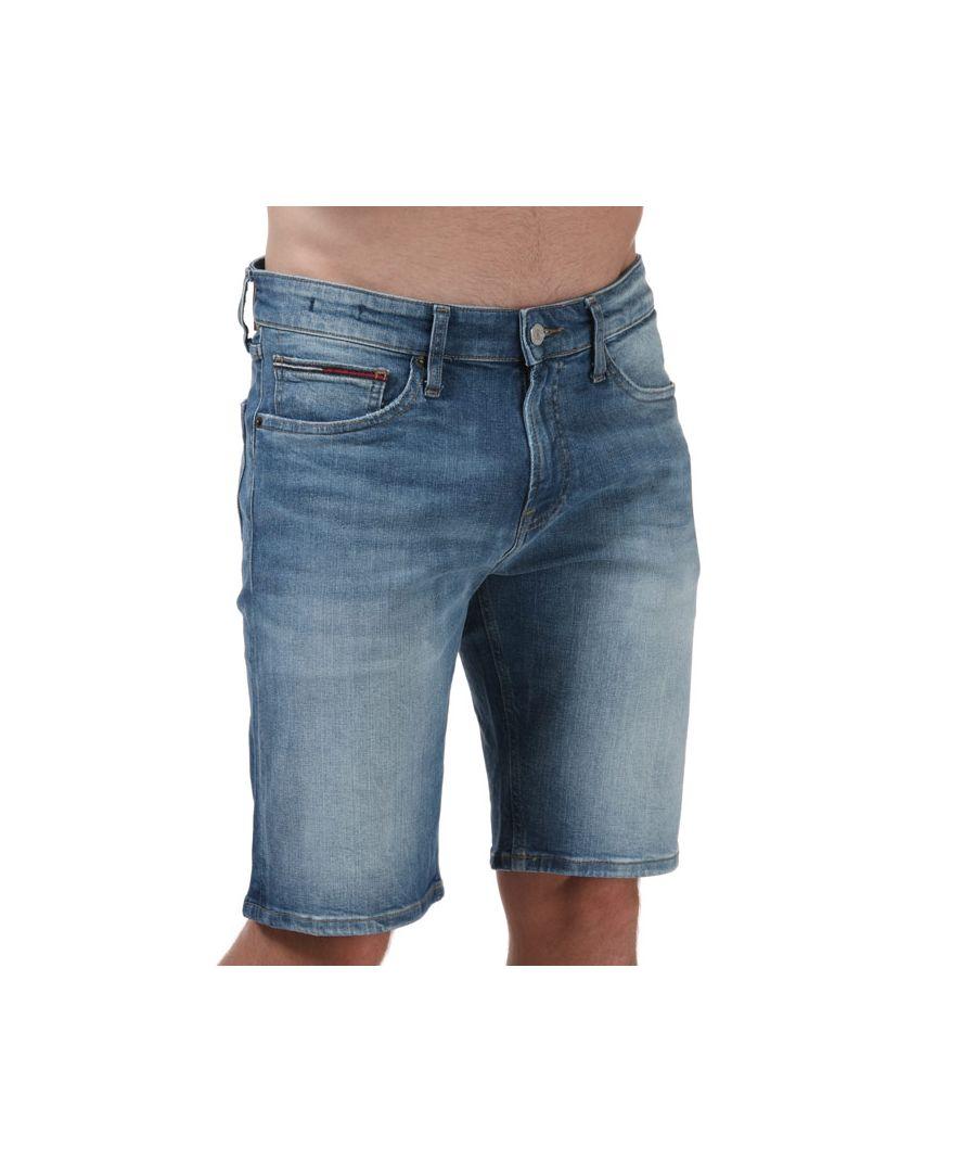 Image for Tommy Hilfiger Men's Scanton Slim Shorts in Denim