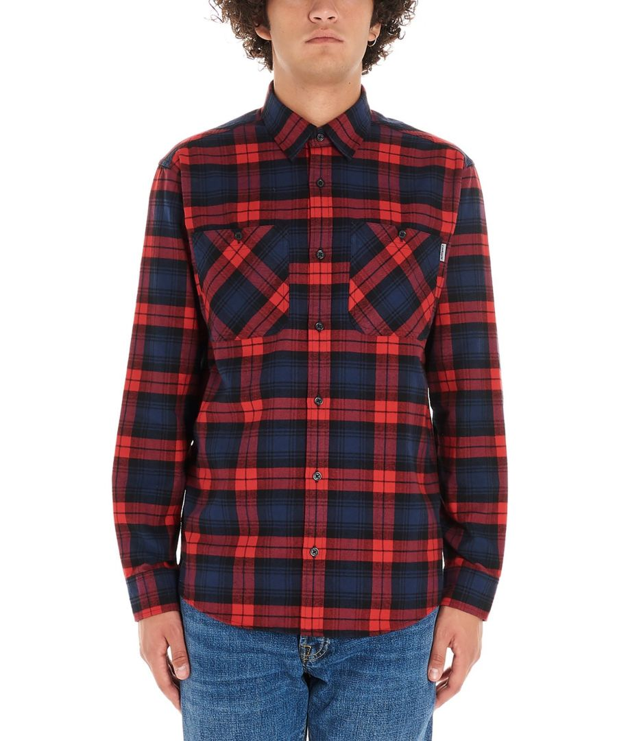 Image for CARHARTT MEN'S I0268029N90 RED COTTON SHIRT