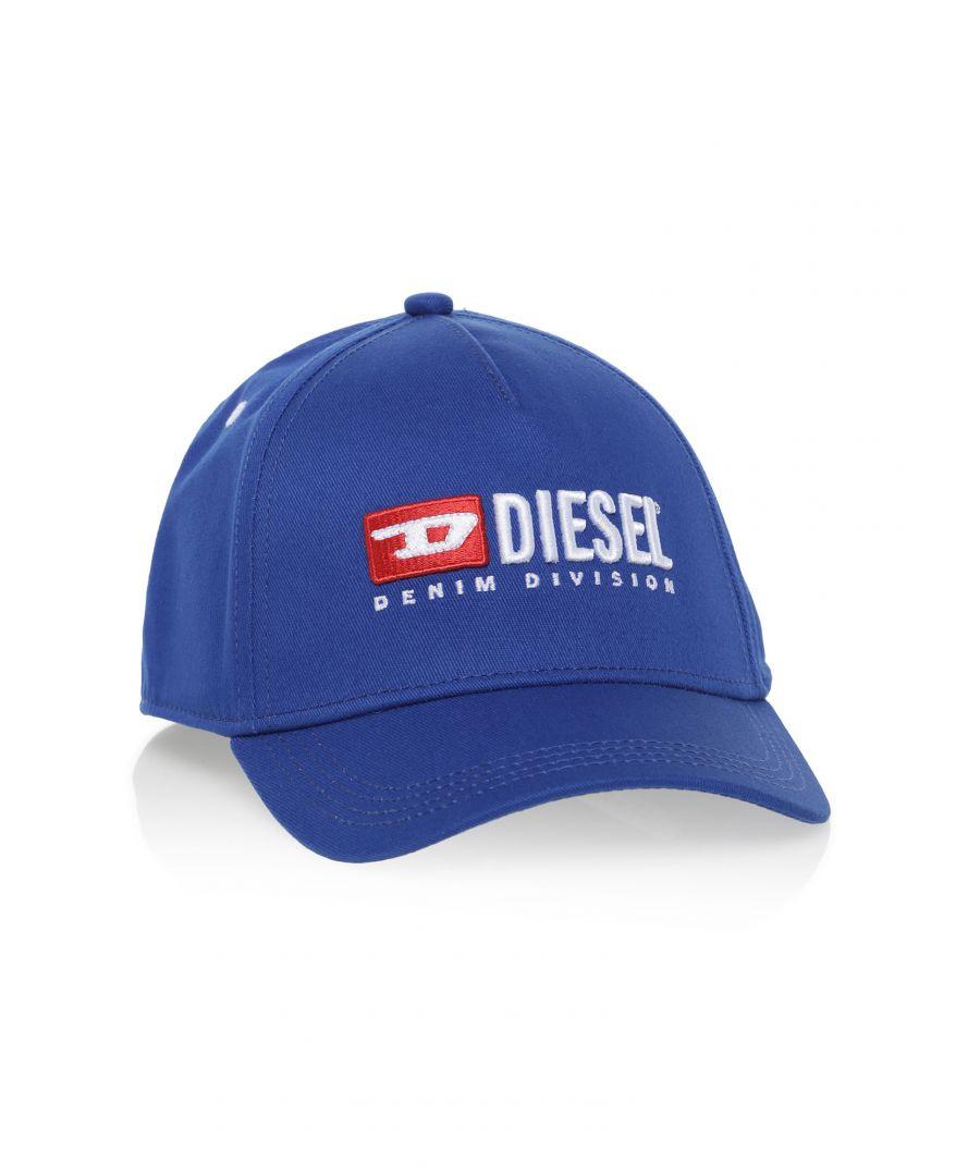 Image for Diesel Genderless Blue Cap with Large Diesel Logo