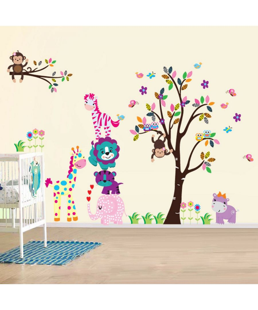 Image for Wall Art - Happy Animals