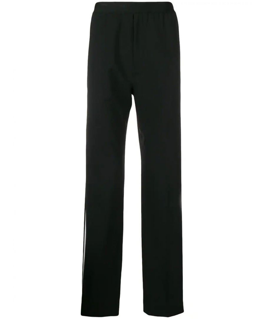 Image for HELMUT LANG MEN'S I09HM207A05 BLACK WOOL PANTS