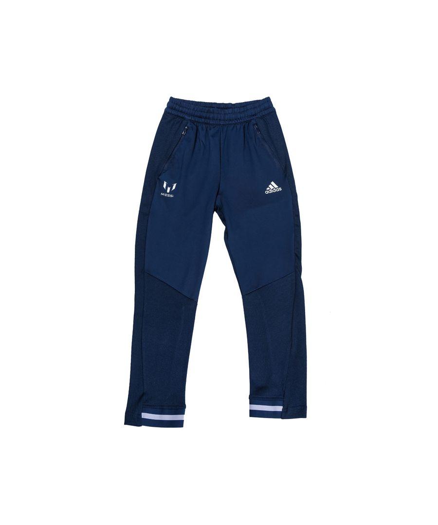 Image for Boys' adidas Infant Messi Tiro Pants Indigo 5-6In Indigo
