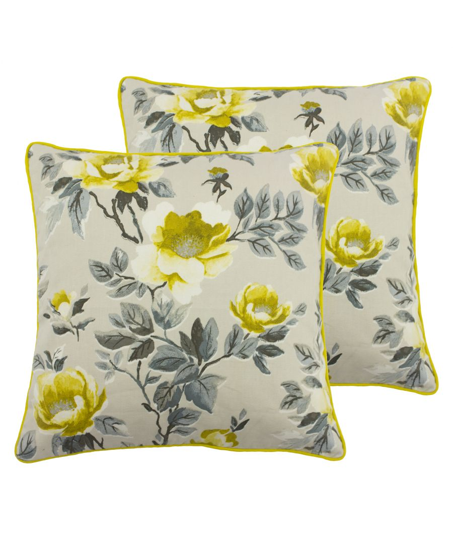 Image for Peony Cushions (Twin Pack)