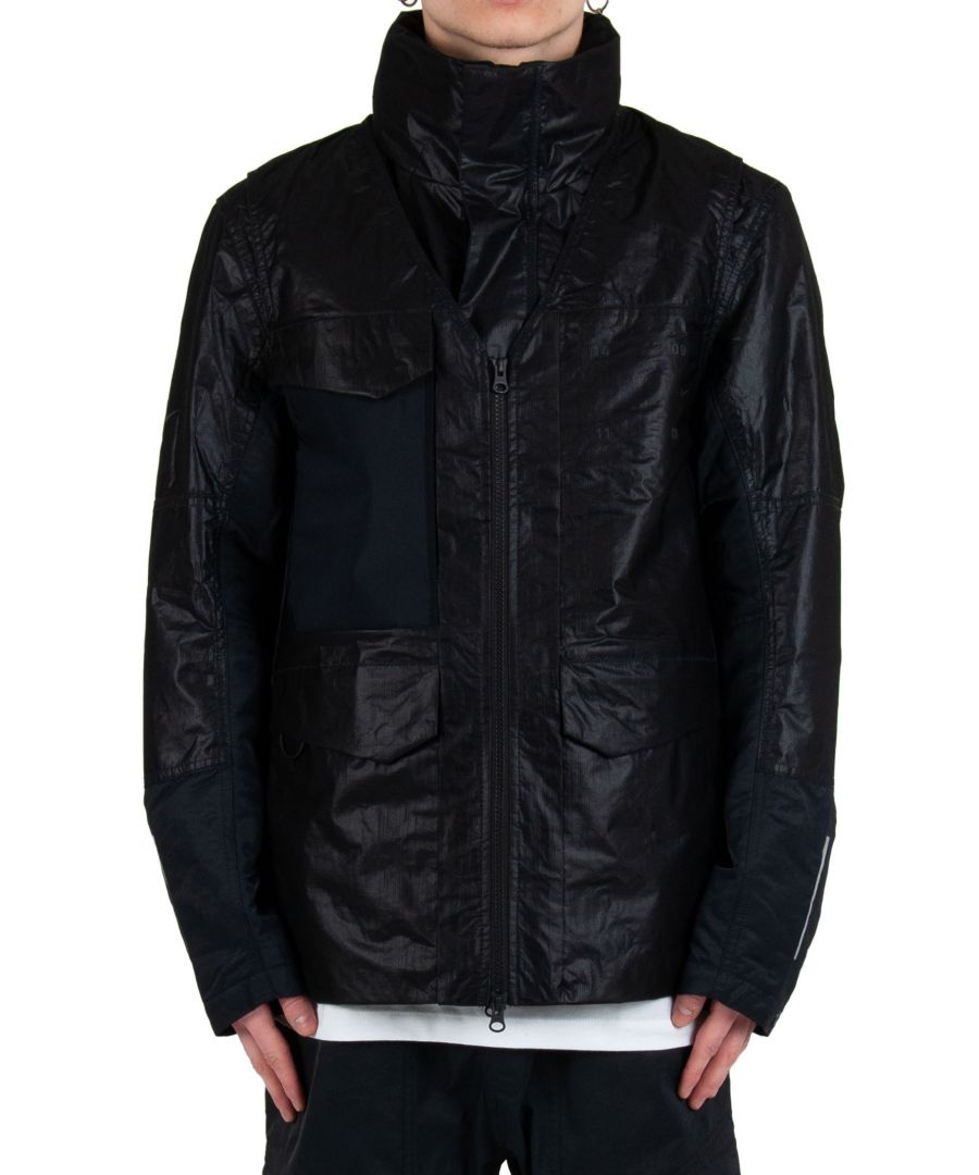 Image for NIKE MEN'S CK0697010 BLACK POLYAMIDE OUTERWEAR JACKET