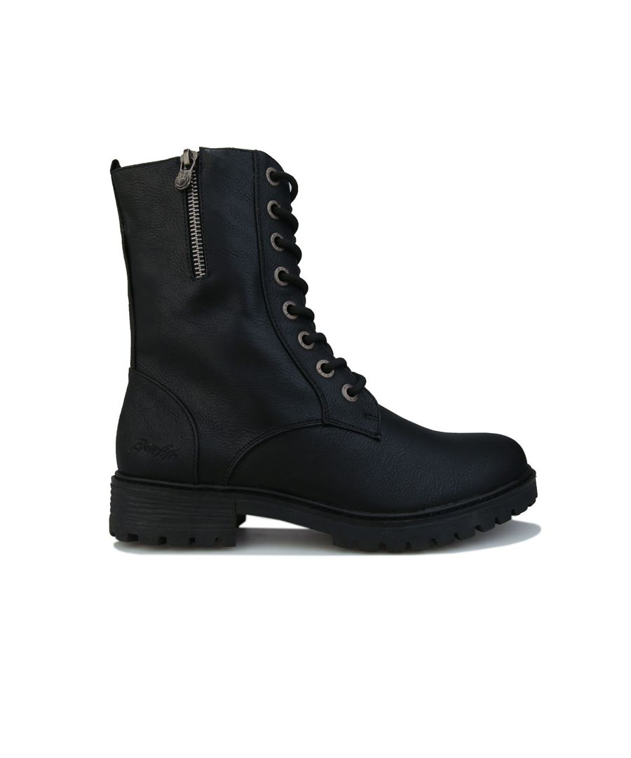 Image for Women's Blowfish Malibu Ruffle Boots in Black