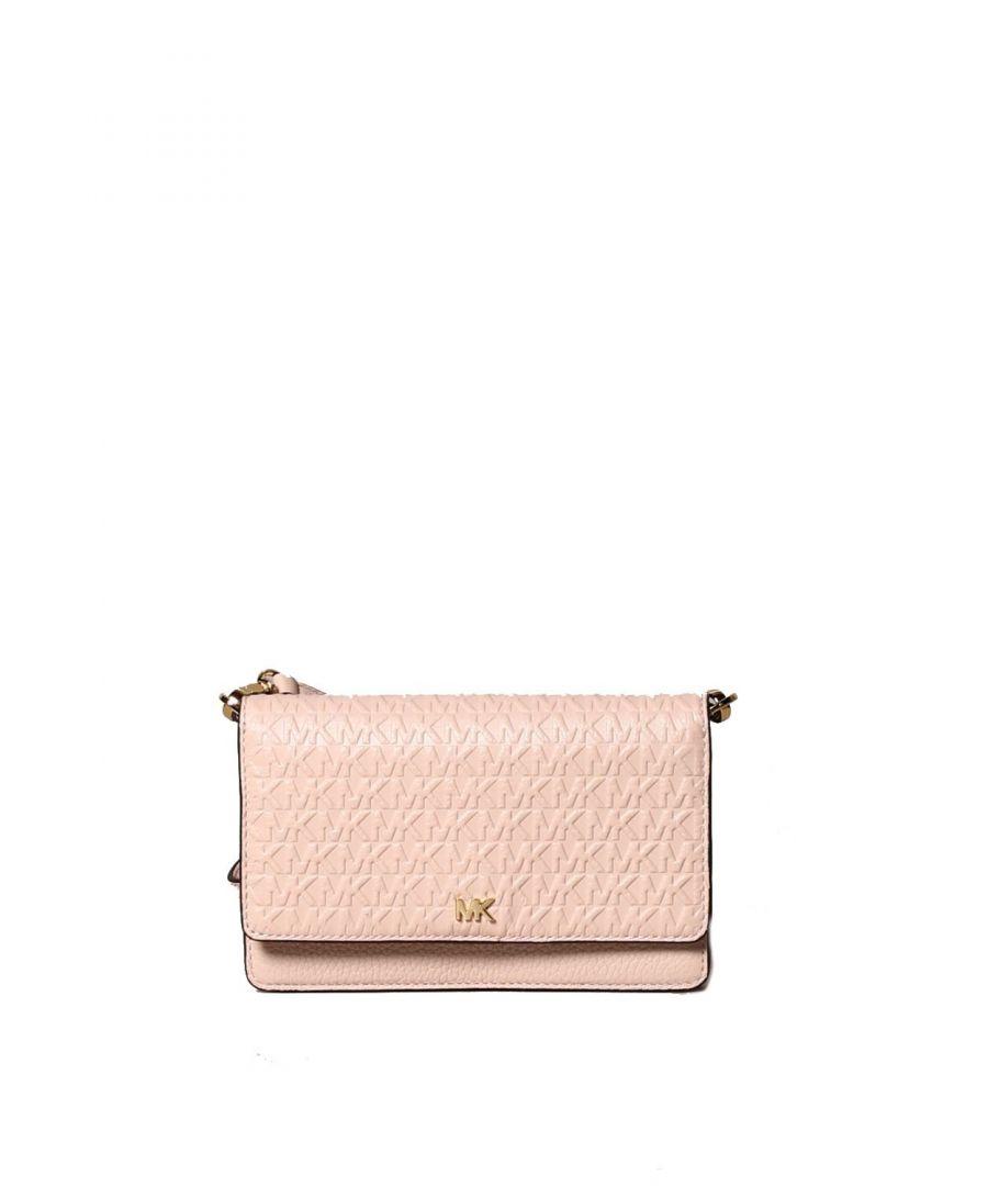 Image for MICHAEL KORS WOMEN'S 32S0GOXC1L187 PINK LEATHER SHOULDER BAG