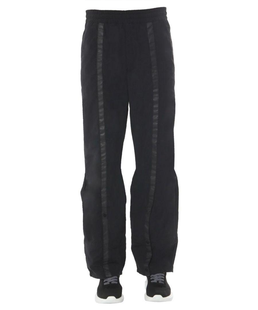 Image for DIESEL MEN'S ACWPT01BLK900 BLACK POLYAMIDE PANTS
