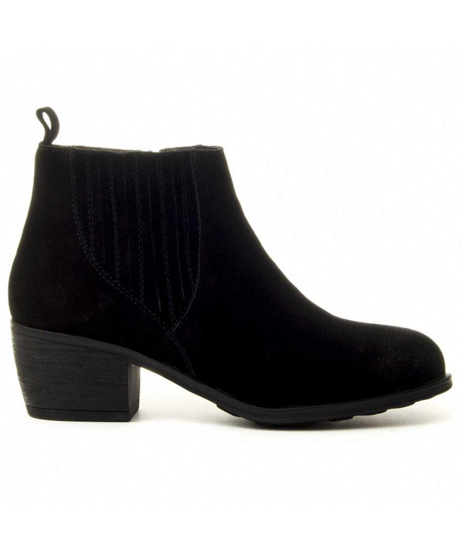Image for Purapiel Ankle Boot in Black