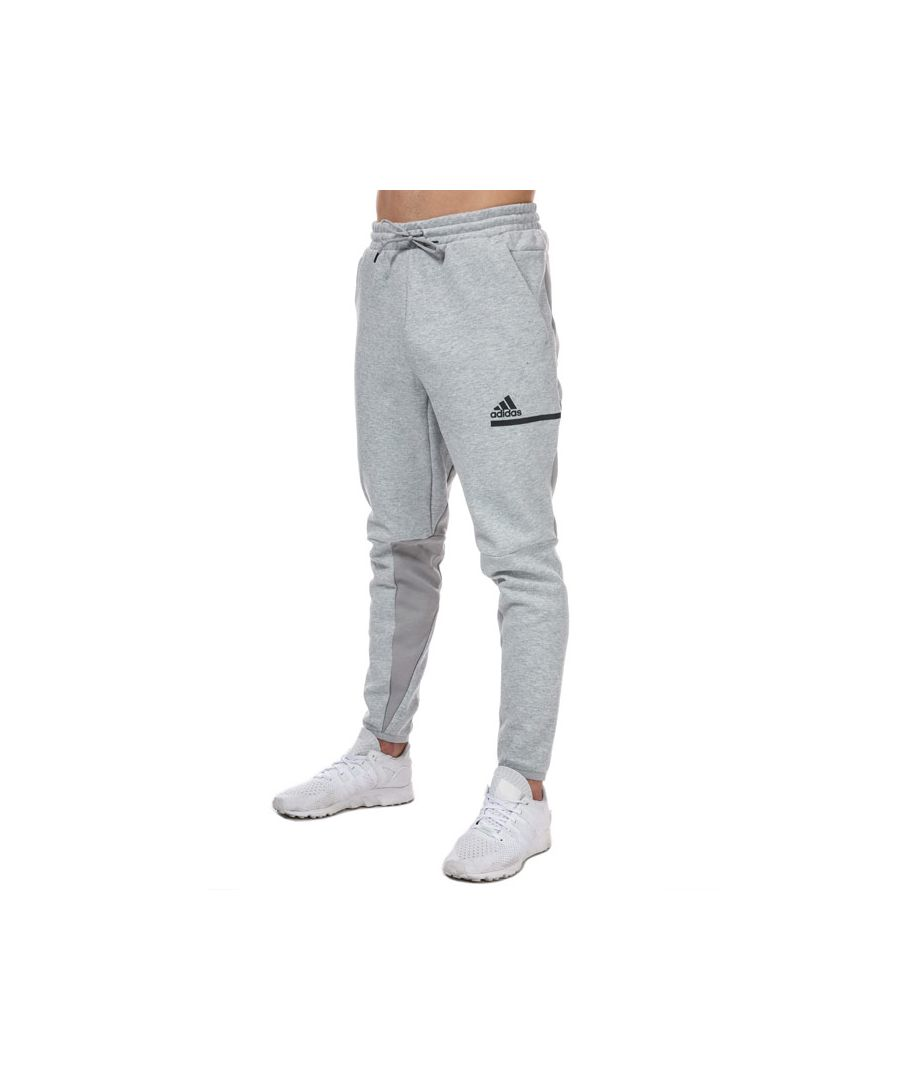 Image for Men's adidas Z.N.E. Tracksuit Bottoms in Grey Heather