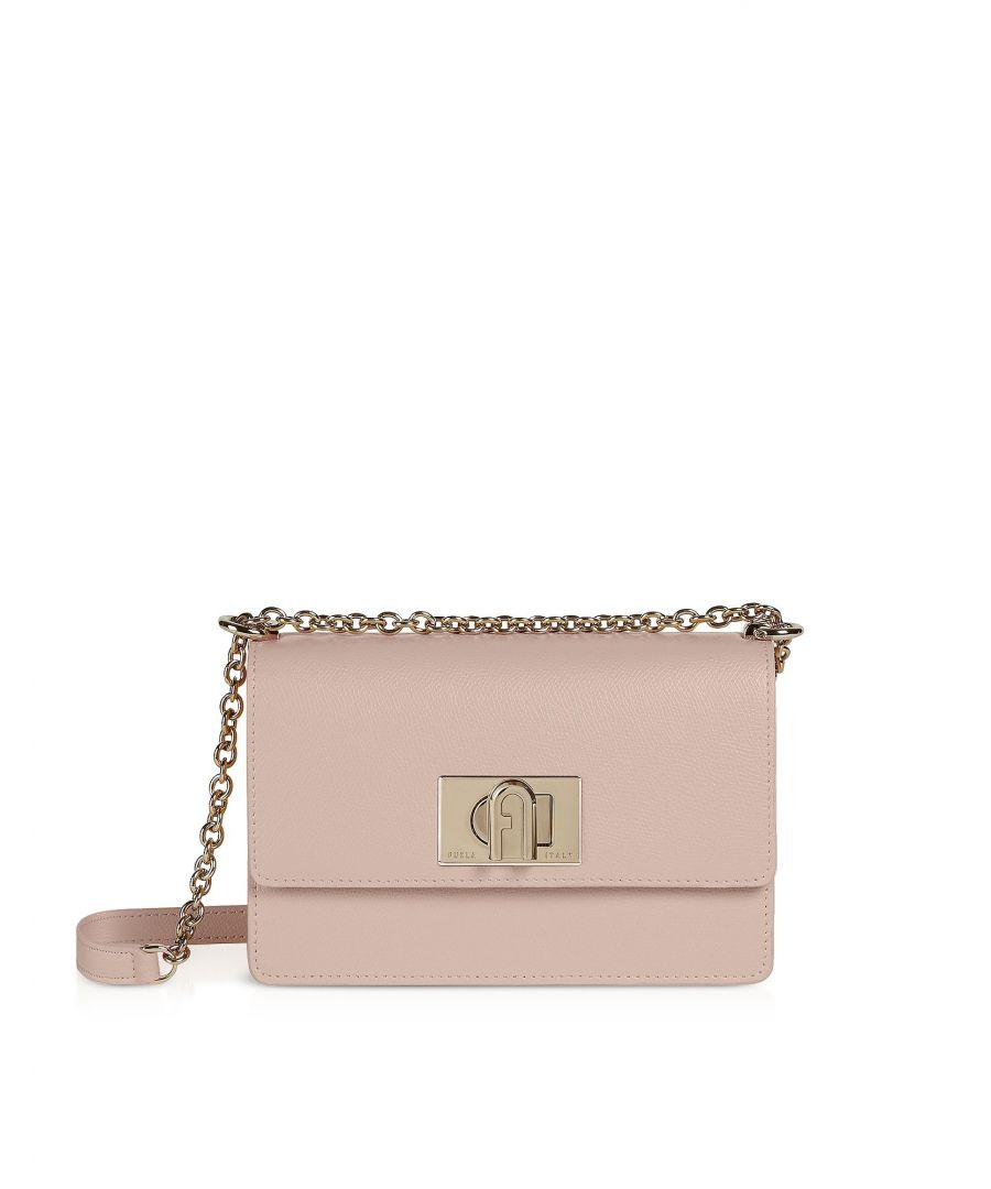 Image for FURLA WOMEN'S 1064048 BEIGE LEATHER SHOULDER BAG