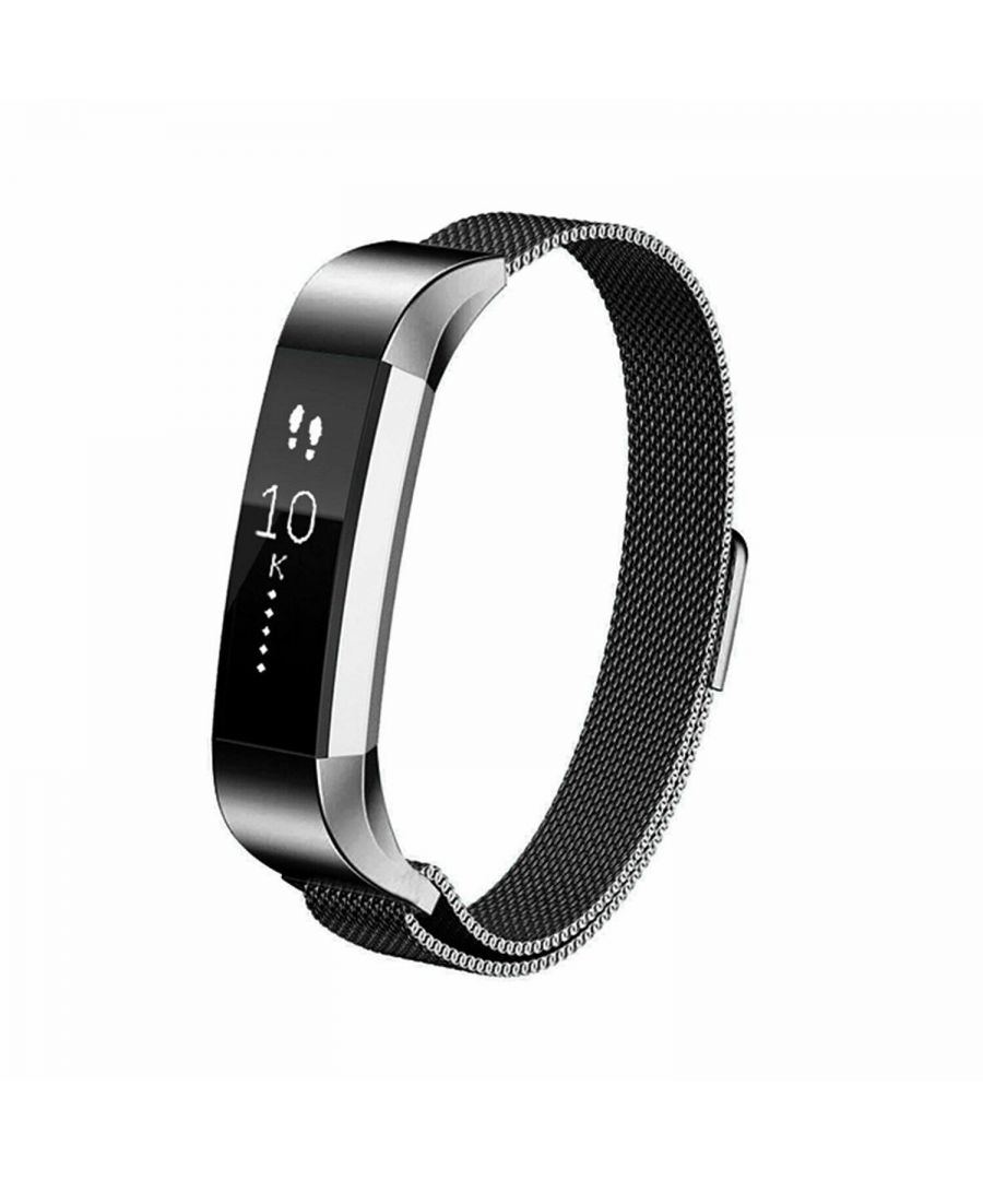 Image for Aquarius Fitbit Alta Milanese Replacement Straps Alta Black