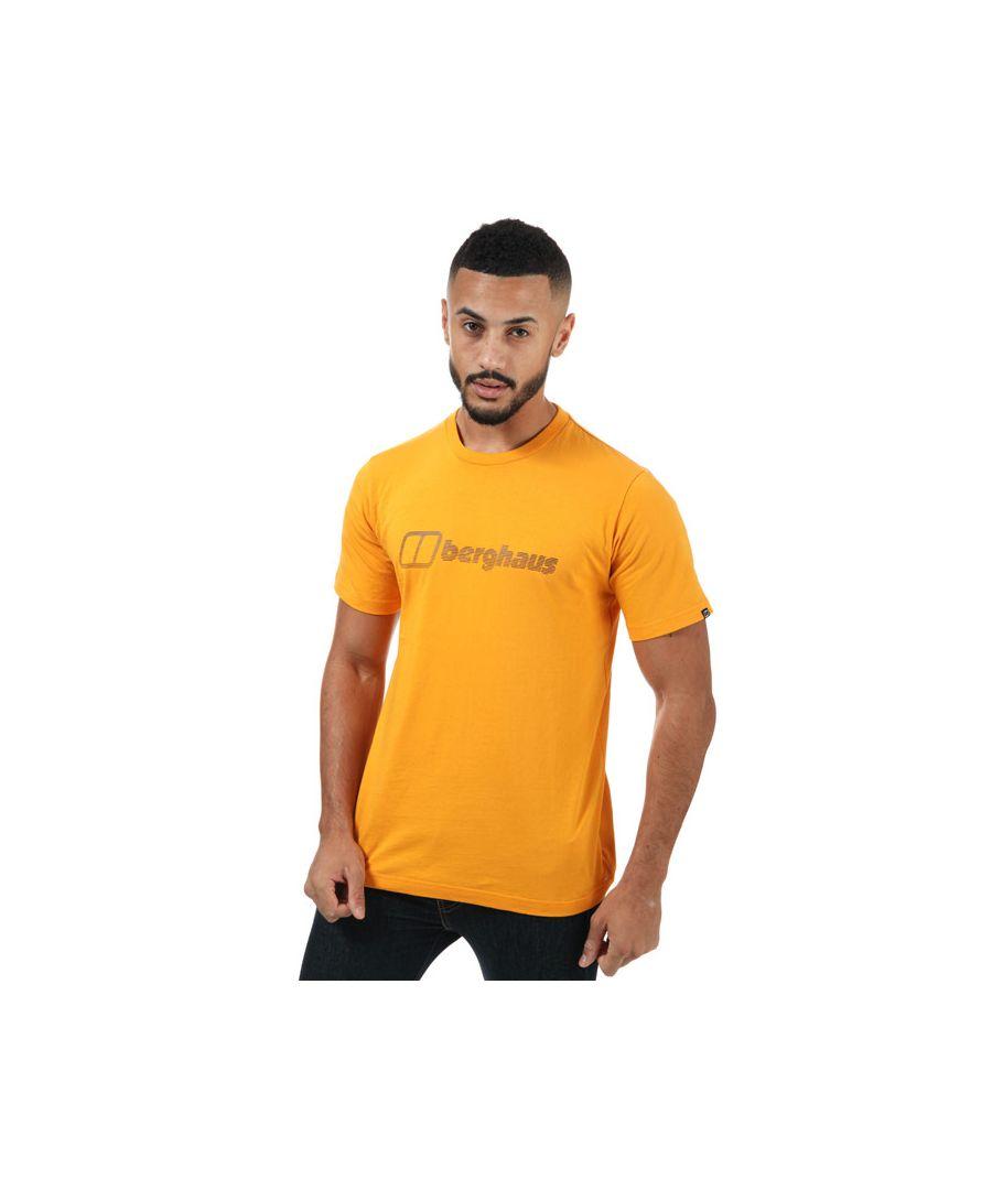 Image for Men's Berghaus Modern Logo T-Shirt in Yellow